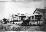 Link to Image Titled: Mule Cars on North Main Street