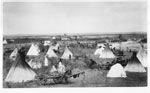 Link to Image Titled: Native American Encampment on Big Arkansas River
