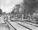 Link to Image Titled: Track Laying for Interurban Railway