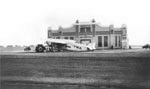 Link to Image Titled: Wichita Municipal Airport and TWA Plane