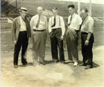 Link to Image Titled: Demonstration of automatic home plate duster at National Baseball Congress Tournament