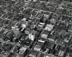 Link to Image Titled: Aerial view of downtown Wichita looking southwest
