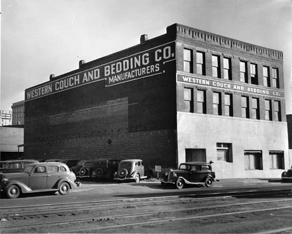 Title/Object Name: Western Couch and Bedding Company